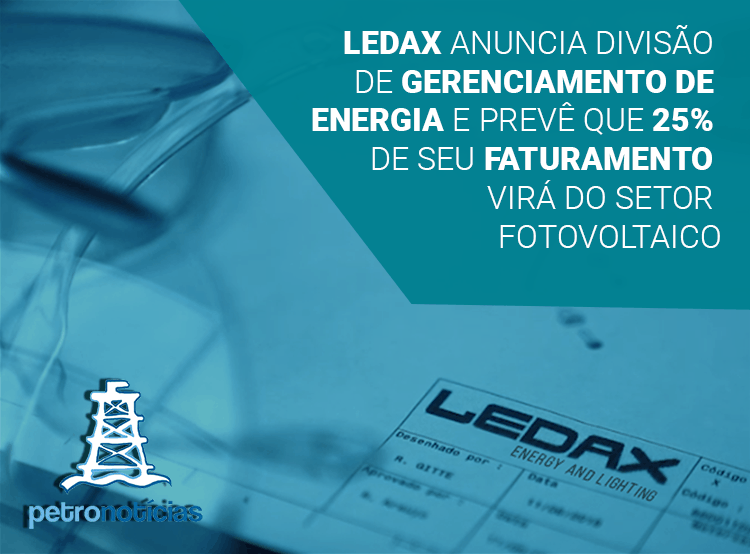 LEDAX announces power management division and predicts that 25% of its revenues will come from the photovoltaic sector.